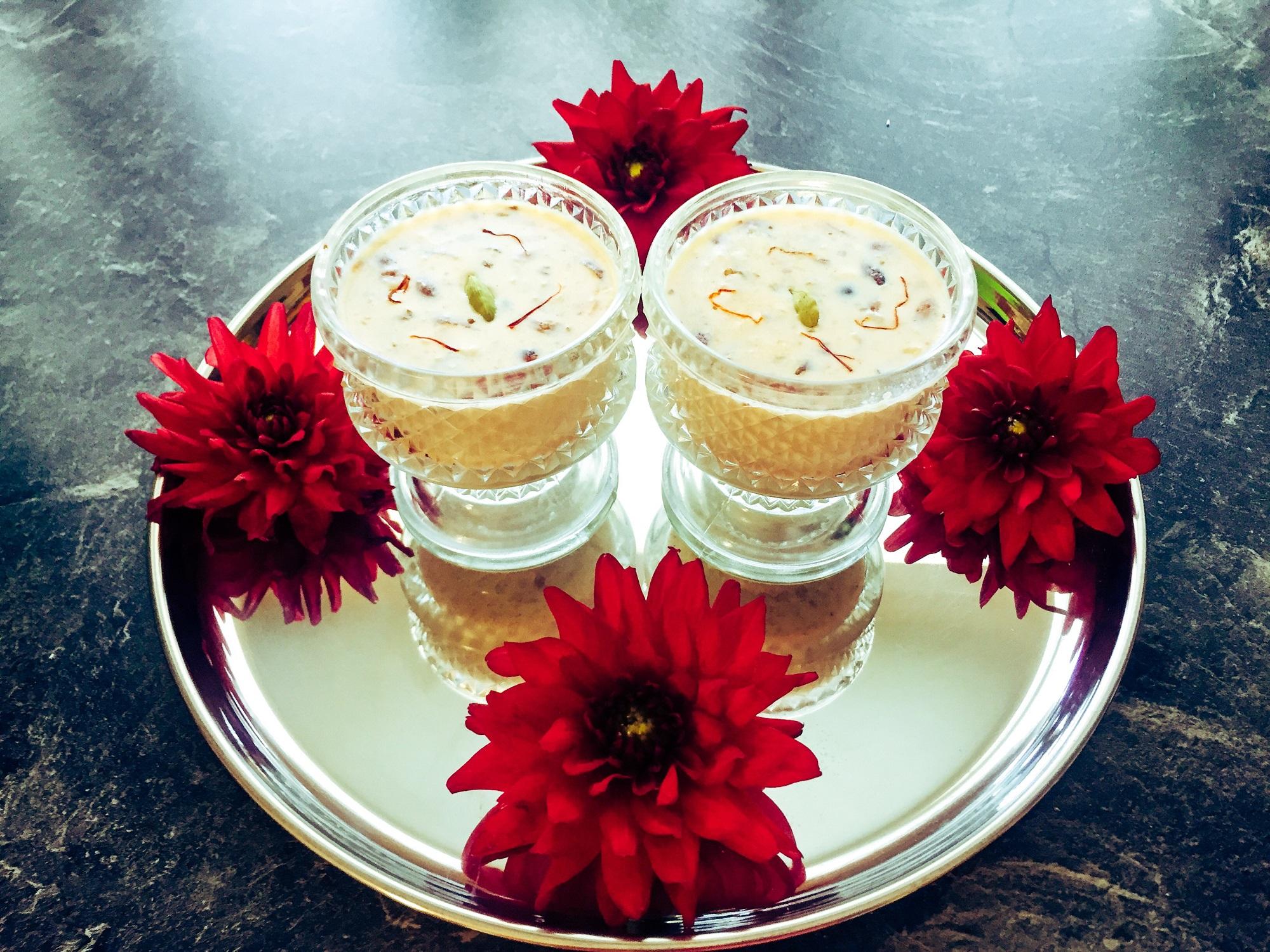 Kheer - Rice pudding