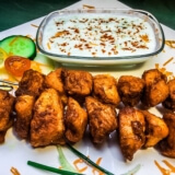 Kuřecí Špíz – Indický Kabab