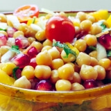 Mango Chickpeas Salad
